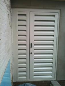 Louvre Doors Acoustic Enclosures