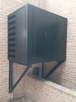 Air Conditioner Fan >> Commercial Enclosures - Acoustic Enclosures